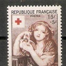 Sellos: FRANCIA.1954. YT 1007. CRUZ ROJA. Lote 257812120