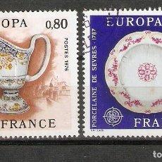 Sellos: FRANCIA. 1976. YT 1877,1878. EUROPA. Lote 257819800