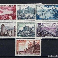 Sellos: FRANCIA 1955 Nº 1036/42 **. Lote 258245575