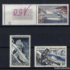 Sellos: FRANCIA 1956 Nº 1078/80 **. Lote 258250035