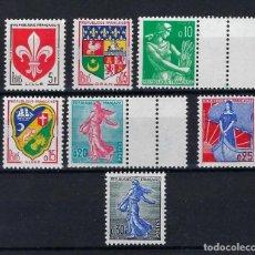 Sellos: FRANCIA 1960 Nº 1130/34A **. Lote 258260320