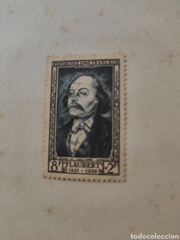 GUSTAVE FLAUBERT (1821-1880) ESCRITOR FRANCÉS (Sellos - Extranjero - Europa - Francia)