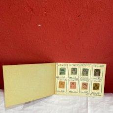 Sellos: ÁLBUM DE SELLOS COLONIAS FRANCIA ASÍA COLECCION 60 SELLOS CLASIFICADOS. VER FOTOS. Lote 261781380