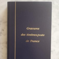 Sellos: ALBUM CON 56 GRABADOS SELLOS DE FRANCIA VER FOTOS. Lote 263197050