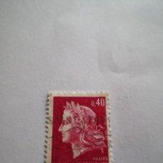 Sellos: SELLO REPUBLICA FRANCESA 0.40. Lote 264269564