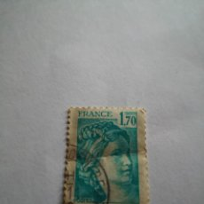 Sellos: SELLO FRANCIA 1.70 SABINE DE GANDON. Lote 264269788