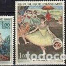 Sellos: SELLOS USADOS DE FRANCIA 1970, YT 1652/ 54. Lote 269837003