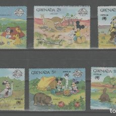 Timbres: LOTE 1-SELLOS DISNEY. Lote 270638643