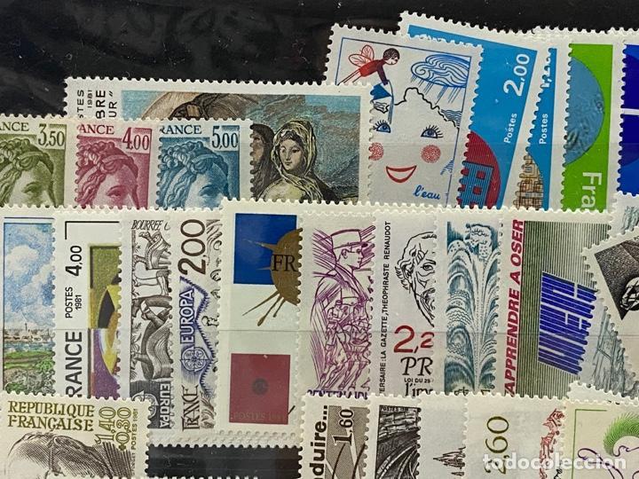 Sellos: FRANCIA. AÑO 1981 COMPLETO. YVERT Nº 2118/2177. VER FOTOS - Foto 3 - 272861098