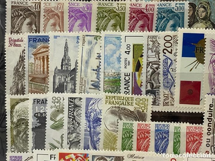 Sellos: FRANCIA. AÑO 1981 COMPLETO. YVERT Nº 2118/2177. VER FOTOS - Foto 5 - 272861098