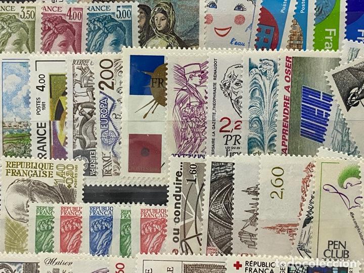 Sellos: FRANCIA. AÑO 1981 COMPLETO. YVERT Nº 2118/2177. VER FOTOS - Foto 6 - 272861098
