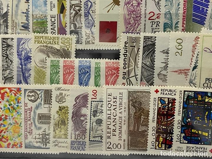 Sellos: FRANCIA. AÑO 1981 COMPLETO. YVERT Nº 2118/2177. VER FOTOS - Foto 9 - 272861098