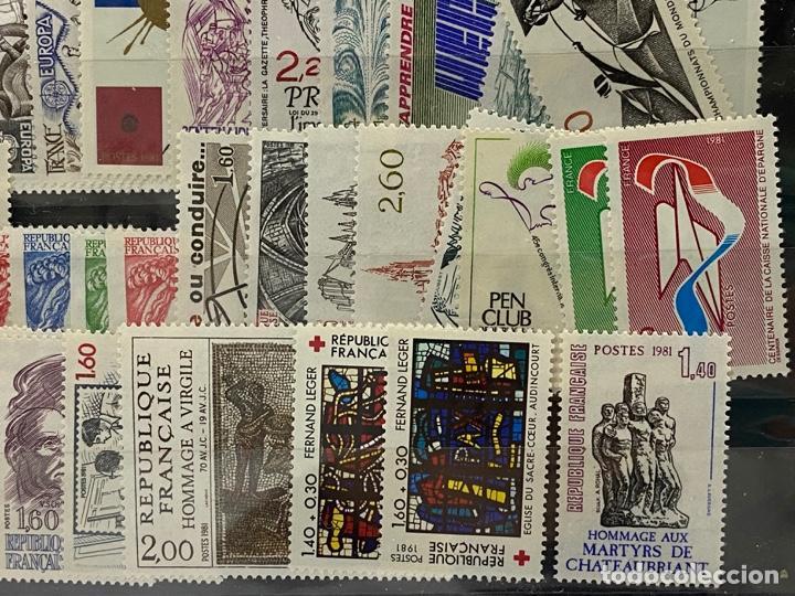 Sellos: FRANCIA. AÑO 1981 COMPLETO. YVERT Nº 2118/2177. VER FOTOS - Foto 10 - 272861098