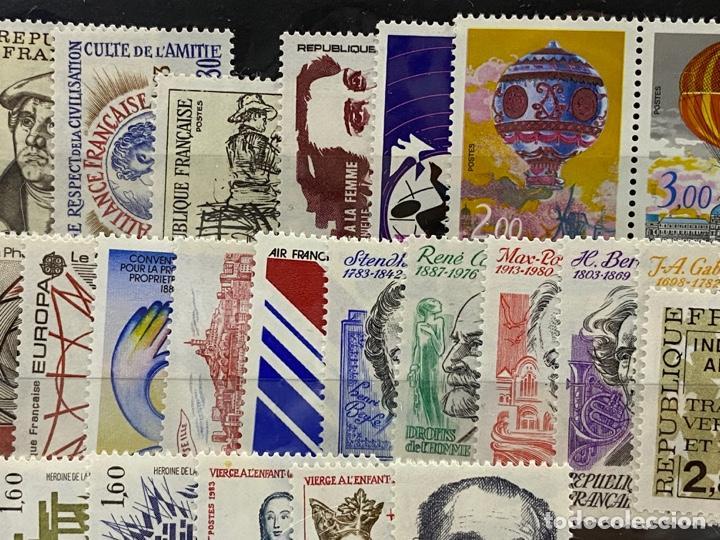 Sellos: FRANCIA. AÑO 1983 COMPLETO. YVERT Nº 2252/2298. VER FOTOS - Foto 3 - 272861913