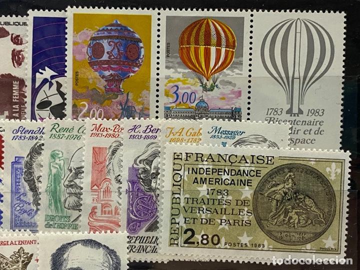 Sellos: FRANCIA. AÑO 1983 COMPLETO. YVERT Nº 2252/2298. VER FOTOS - Foto 4 - 272861913