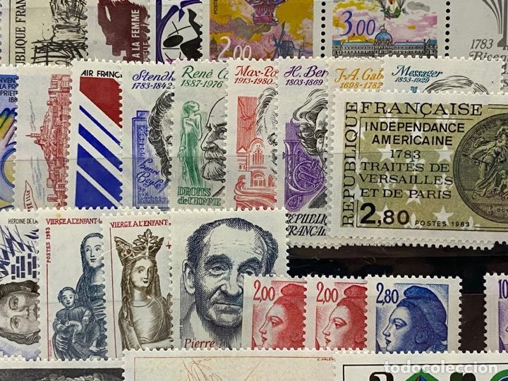 Sellos: FRANCIA. AÑO 1983 COMPLETO. YVERT Nº 2252/2298. VER FOTOS - Foto 7 - 272861913