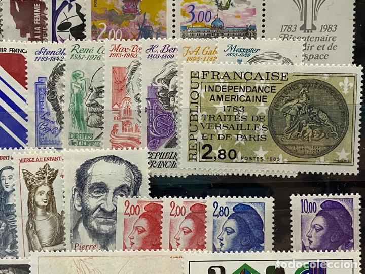 Sellos: FRANCIA. AÑO 1983 COMPLETO. YVERT Nº 2252/2298. VER FOTOS - Foto 8 - 272861913