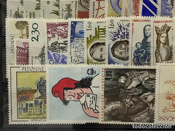 Sellos: FRANCIA. AÑO 1983 COMPLETO. YVERT Nº 2252/2298. VER FOTOS - Foto 9 - 272861913