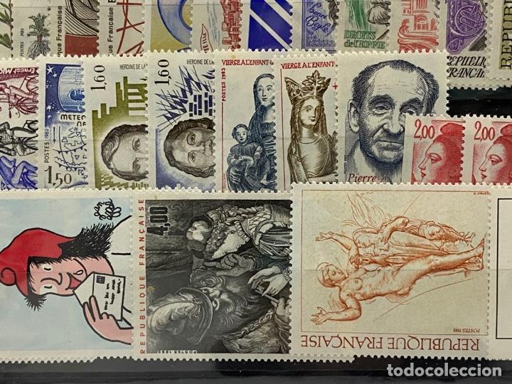Sellos: FRANCIA. AÑO 1983 COMPLETO. YVERT Nº 2252/2298. VER FOTOS - Foto 10 - 272861913