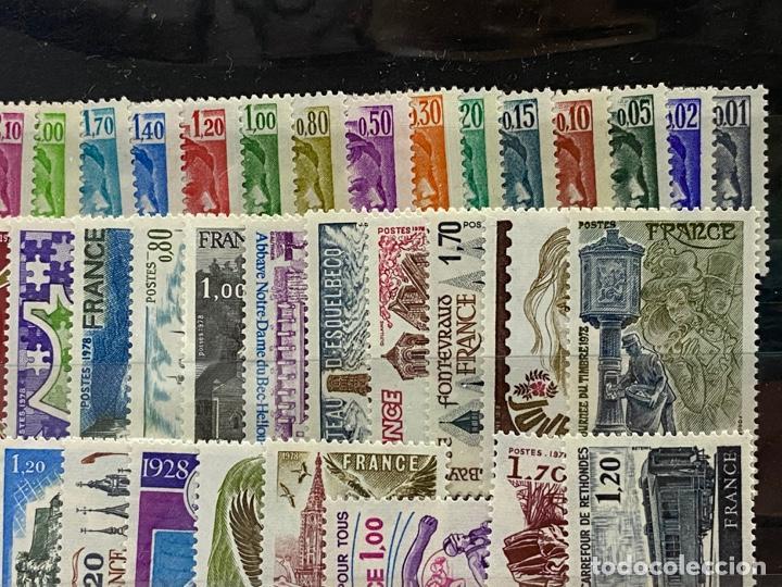 Sellos: FRANCIA. AÑO 1978 COMPLETO. YVERT Nº 1962/2027. VER FOTOS - Foto 5 - 272862208