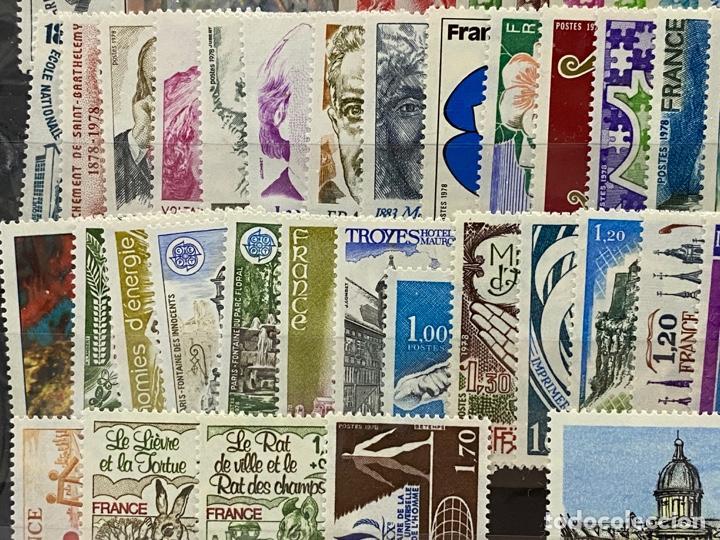 Sellos: FRANCIA. AÑO 1978 COMPLETO. YVERT Nº 1962/2027. VER FOTOS - Foto 6 - 272862208