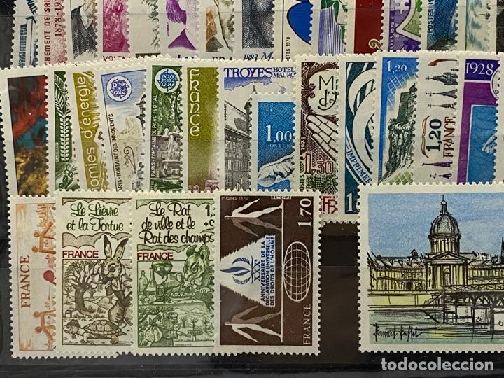 Sellos: FRANCIA. AÑO 1978 COMPLETO. YVERT Nº 1962/2027. VER FOTOS - Foto 10 - 272862208