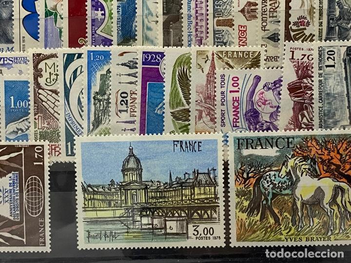 Sellos: FRANCIA. AÑO 1978 COMPLETO. YVERT Nº 1962/2027. VER FOTOS - Foto 11 - 272862208