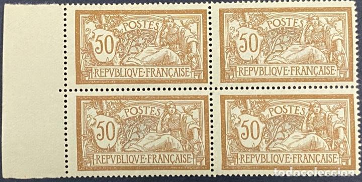 FRANCIA, 1923. YVERT 199. REPUBLICA FRANCESA. BLOQUE DE 4. NUEVO. CON CHARNELA (Sellos - Extranjero - Europa - Francia)