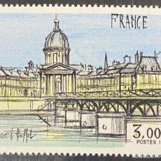 Sellos: FRANCIA, 1978. YVERT 1994. PINTURAS. BERNARD BUFFET. SERIE COMPLETA. NUEVOS. SIN FIJASELLOS. Lote 276438523