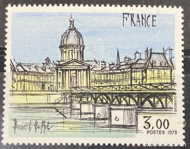 FRANCIA, 1978. YVERT 1994. PINTURAS. BERNARD BUFFET. SERIE COMPLETA. NUEVOS. SIN FIJASELLOS (Sellos - Extranjero - Europa - Francia)