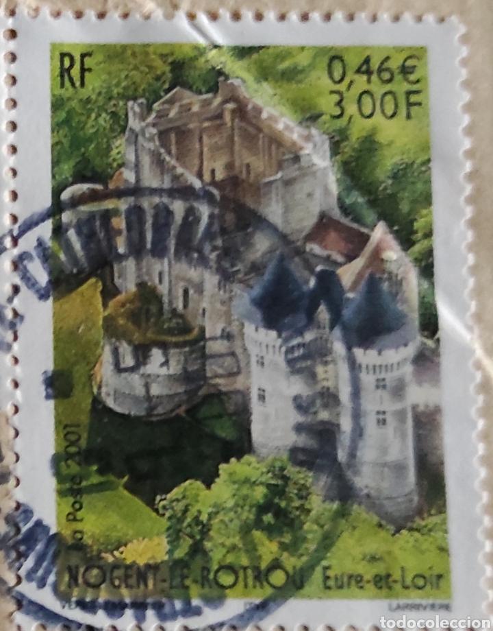 Sellos: Sello Nogent-le-Rotrou, Eure-et-Loir. Yvert 3386. Sello tipo Marianne 14 de julio, Yvert 3097 - Foto 2 - 277098308