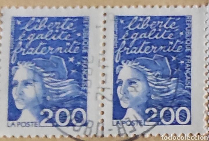 Sellos: 3 sellos Centenario Albert Decaris (1901-1988) Yvert 3435. 2 sellos tipo Marianne 14 de julio, 3090 - Foto 3 - 277100208