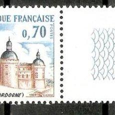 Sellos: FRANCIA. 1969. YT 1596. MNH. Lote 277227253