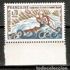 Sellos: FRANCIA. 1969. YT 1609. DEPORTES. MNH. Lote 277228223