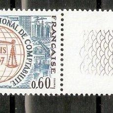 Sellos: FRANCIA. 1967. YT 1529. MNH. Lote 277228653