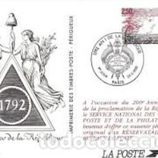 Sellos: ENTERO POSTAL DE FRANCIA 1992. Lote 278421378