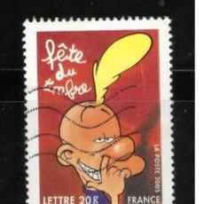 Sellos: SELLO USADO DE FRANCIA 2005 YVERT 3751 ART 6. Lote 279481748