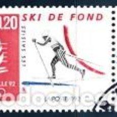Sellos: SELLO USADO DE FRANCIA 1992, YT 2742. Lote 279495713