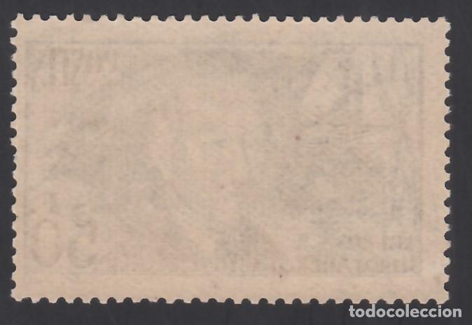Sellos: FRANCIA. 1938 YVERT Nº 398 /*/, Clément Ader, Pionero de la Aviación. - Foto 2 - 286145498