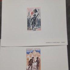 Sellos: O) 1972 FRANCIA, PRUEBA, INCROYABLES Y MERVEILLEUSES 1795, BONAPARTE EN EL PUENTE DE ARCOLE, EXPEDIC. Lote 288563588