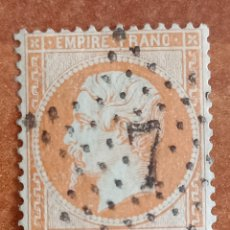 Sellos: FRANCIA N°23 AÑO 1862 USADO (FOTOGRAFÍA REAL). Lote 289320008