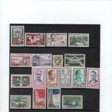 Sellos: FRANCIA AÑOS 1959/1962 COMPLETOS IVERT 1189 AL 1367 + AÉREOS Y PREOBLITERATOS, TAXA, SERVICIO.MNH,. Lote 289694373