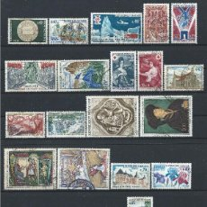 Sellos: FRANCE LOT 31 TIMBRES OBL (FU) 1968/69 - (LOT III). Lote 296558893
