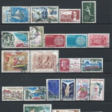 Sellos: FRANCE LOT 25 TIMBRES OBL (FU) 1970 - (LOT IV). Lote 296559573