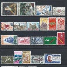Sellos: FRANCE LOT 23 TIMBRES OBL (FU) 1972 - (LOT VI). Lote 296560888