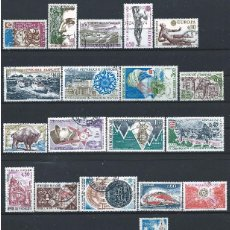 Sellos: FRANCE LOT 34 TIMBRES OBL (FU) 1974 - (LOT VIII). Lote 296564763