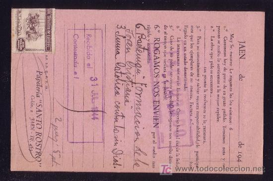Sellos: DORSO DE LA TARJETA POSTAL - Foto 2 - 27091563