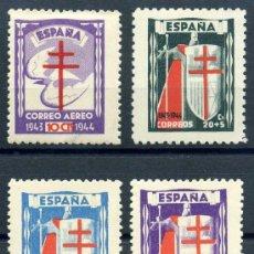 Briefmarken - 970/73* - Pro Tuberculosos 1943 (Nuevo con Charnela) - 8803501