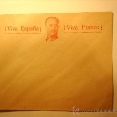 Sellos: SOBRE , VIVA ESPAÑA , VIVA FRANCO , AÑOS 1936-39. Lote 25808946