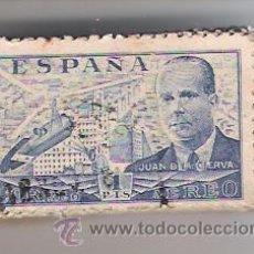 Sellos: PASTILLA DE 100 SELLOS DE JUAN DE LA CIERVA. Lote 26798596